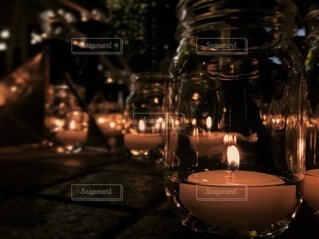 Instagram,光,キャンドル,食器,ボトル,グラス,火,明るい,ロマンティック,蝋燭,インスタ,ロウソク,インスタ映え