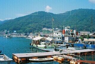 夏の鞆の浦の写真・画像素材[4655874]