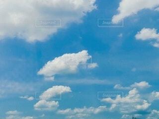 空,夏,雲,青空