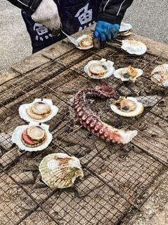 海の近くで味わう幸の写真・画像素材[4664178]