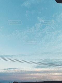 空,屋外,雲