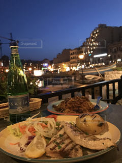 魚,シーフード,海沿い,マルタ,姉妹旅行