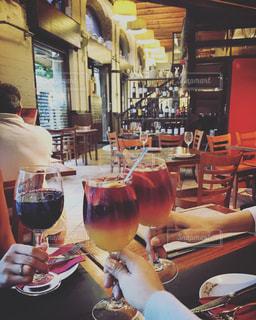 ワイン,スペイン,バルセロナ,乾杯,バル,サングリア,赤ワイン