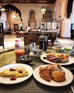 朝食の写真・画像素材[478837]