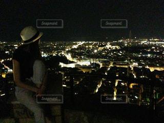 夜の人々の写真・画像素材[919262]