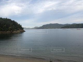 自然,空,屋外,湖,ビーチ,雲,島,水面,海岸,山,樹木
