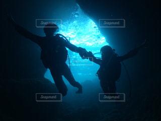 海,沖縄,ダイビング,冒険,青の洞窟