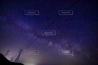 風景,空,夜,夜空,星空,山,星,景観,天文学