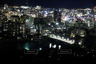風景,空,建物,夜,夜景,屋外,都市,街,タワー,高層ビル