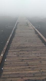 風景,屋外,北海道,霧,景色,大自然,道,木目,先の見えない場所