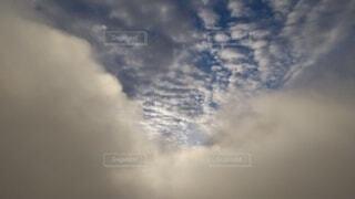 自然,空,屋外,雲,暗い,山,朝焼け,煙,高原,群馬,新潟,くもり,谷川岳,一ノ倉岳,谷川岳山頂