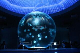 屋内,青,水族館,ボール,クラゲ,江ノ島,新江ノ島水族館,クラゲファンタジーホール