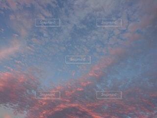 空,屋外,雲,夕焼け,夕暮れ,飛行機