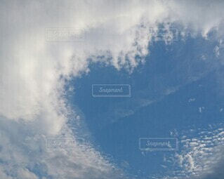 自然,空,屋外,雲,飛行機,くもり