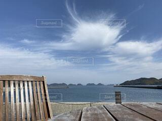 風景,空,屋外,湖,ビーチ,雲,水面,木目