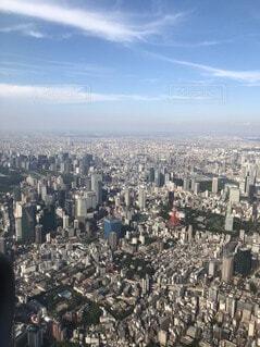 空,建物,屋外,雲,タワー,都会,人物,人,高層ビル,空中