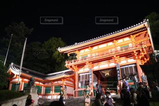 夜景,京都,観光,八坂神社,祇園