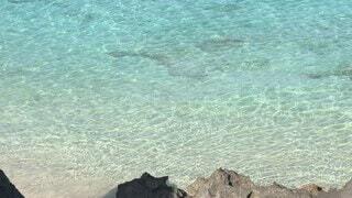 自然,海,屋外,ビーチ,水面,観光,鹿児島県,与論