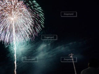 打ち上げ花火の写真・画像素材[4669160]