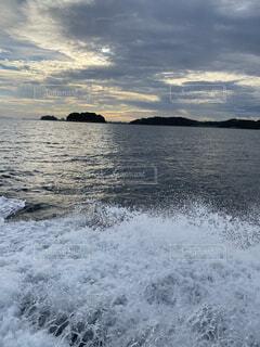 自然,風景,海,空,屋外,湖,ビーチ,雲,波,虹,水面,山