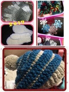 プレゼント,毛糸,手袋,手作り,ニット,繊維,飾り,編み物,羊毛,織物,オーナメント,ウール,スレッド,かぎ針 編み