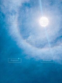 自然,空,屋外,太陽,雲,青空,青