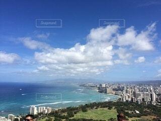 自然,風景,海,空,屋外,湖,ビーチ,雲,水面,高層ビル,ハワイ