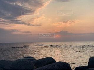 自然,風景,海,空,屋外,湖,太陽,ビーチ,雲,夕暮れ,水面,日の出