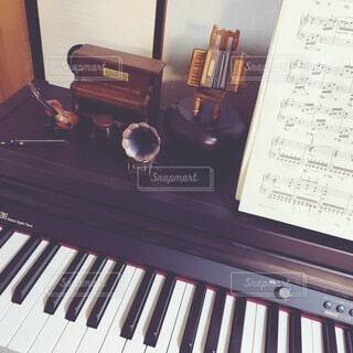 ピアノのクローズアップの写真・画像素材[4685015]