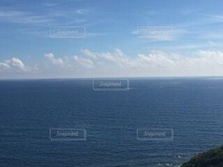海,空,夏,屋外,雲,水平線,旅行,ブルー