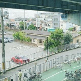 建物,車,車両,陸上車両