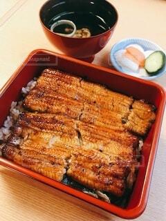 土用の丑の日に食べる美味しい鰻重の写真・画像素材[4680950]