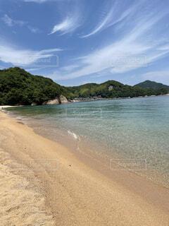 自然,風景,海,空,屋外,湖,ビーチ,雲,島,水面,海岸,山,樹木,地面