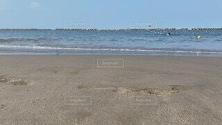 自然,海,空,屋外,砂,ビーチ,水,砂浜,水面,海岸,海水浴場