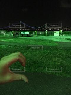 素敵な夜景の前で…の写真・画像素材[748347]