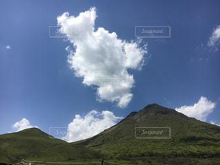 大好きな山!湯布岳!の写真・画像素材[851068]