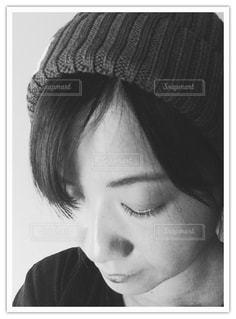 ニット帽!の写真・画像素材[857536]