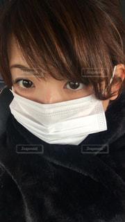 寒さ対策!マスク!スヌード!の写真・画像素材[857542]