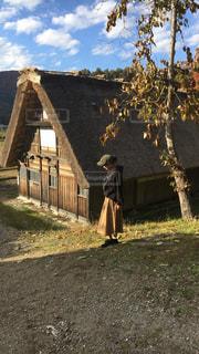 秋コーデになりますの写真・画像素材[1603517]