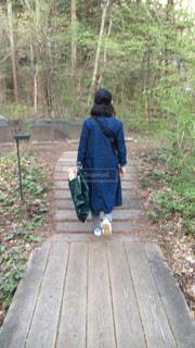 後ろ姿,旅行,軽井沢,信州,草木,フォトジェニック,多色
