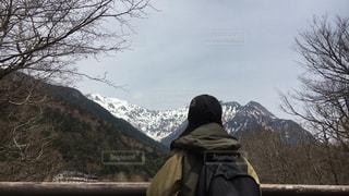 後ろ姿,山,登山,旅行,信州,草木,フォトジェニック