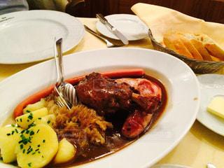 旅行,旅,レストラン,ソーセージ,郷土料理,ドイツ料理,伝統料理,ドイツ・フランクフルト,Restaurant Schwarzer Stern