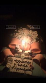 スイーツ,ケーキ,ろうそく,おやつ,メッセージ,手作り,デコレーション,バースデー,シュガークラフト,マシュマロフォンダント