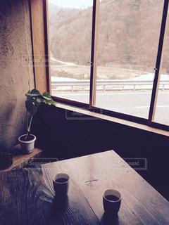 インテリア,窓,レトロ,観光,旅,観葉植物,小豆島,食堂,香川県,こまめ食堂