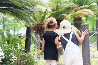 チビカップルの公園デートの写真・画像素材[4707653]