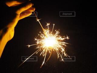 またいつかみんなで花火が出来る日を願っての写真・画像素材[4693765]
