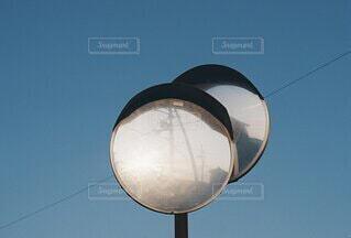 電柱のクローズアップの写真・画像素材[4780247]