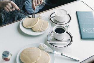 喫茶店にての写真・画像素材[4791072]