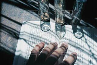 ハートの影の写真・画像素材[4868432]