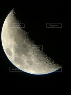 自然,風景,空,夜空,月,望遠鏡,クレーター